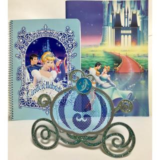 ディズニー(Disney)のシンデレラ セット ♡ ノート & アクセサリースタンド 東京ディズニーランド(置物)