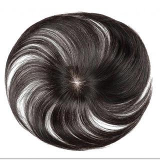 10 ウィッグ ポイントウィッグ feshfen 白髪隠れ ヘアピース 人毛 (その他)