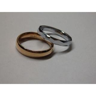 2つセット タングステン サージカルステンレス(リング(指輪))