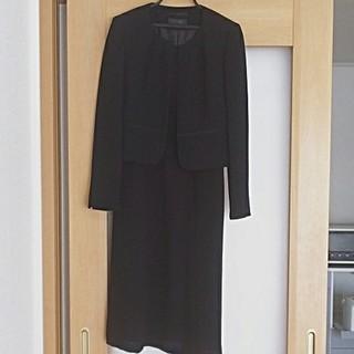 マルイ(マルイ)のブラックフォーマル 礼服 ジャケット ワンピース セット 7号(礼服/喪服)