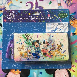 Disney - ディズニー35周年 スマホケース 新品未使用