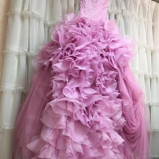 ヴェラウォン(Vera Wang)のVeraWang ヴェラウォン ピンクヘイリー size0(ウェディングドレス)