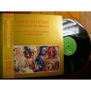 LP盤です★Japanのデヴィッド・シルビアン+ホルガー・シューカイ『シャーマン(ワールドミュージック)