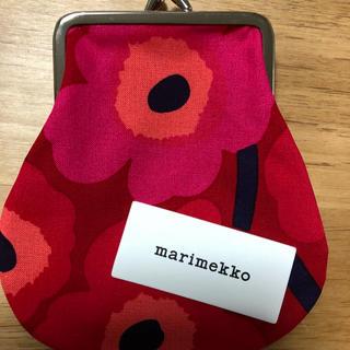 マリメッコ(marimekko)のマリメッコ がま口ポーチ(財布)