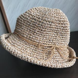 オリエント(ORIENT)の麦わら帽子 ストローハット レディース 古着 夏物(麦わら帽子/ストローハット)