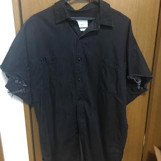 ザラ(ZARA)のZARA 半袖シャツ 黒(シャツ)