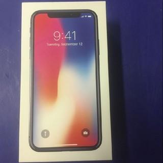 アイフォーン(iPhone)のIPhone X 256GB スペースグレイSIMフリー中古4台 (スマートフォン本体)