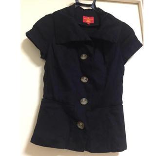 ヴィヴィアンウエストウッド(Vivienne Westwood)のVivienne Westwood Red label 半袖テーラード (テーラードジャケット)