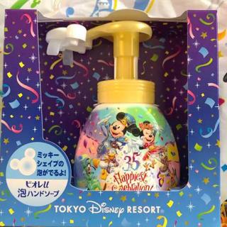 Disney - 【完売品❤】ミッキー シェイプ ハンドソープ❤ディズニー 35周年❤