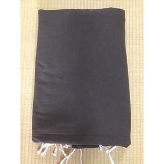 ムジルシリョウヒン(MUJI (無印良品))の無印良品 ダブル 190× 210 ダークブラウン 布団カバー(シーツ/カバー)