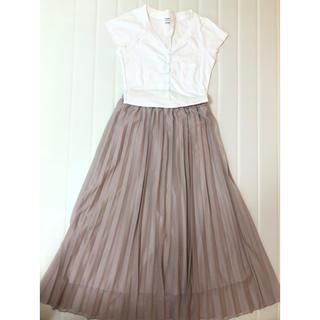 シマムラ(しまむら)のプリーツスカート(ひざ丈スカート)