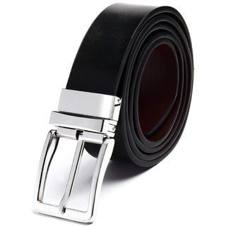 SAVILEMAN ベルト メンズ 革 ビジネス  リバーシブル レザー 黒 茶(ベルト)
