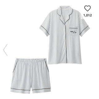 ジーユー(GU)の【新品未使用】ストライプパジャマ(パジャマ)