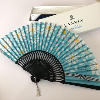 ランバンオンブルー(LANVIN en Bleu)のランバンオンブルー 扇子(その他)