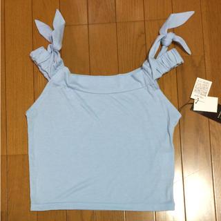 エモダ(EMODA)のEMODA エモダ オフショルダー トップス タグ付き未使用品(カットソー(半袖/袖なし))