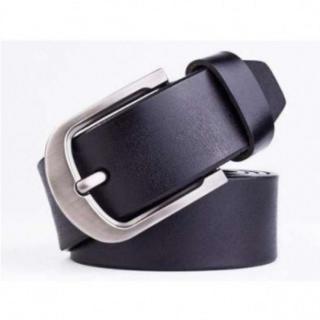 60 黒 本革ベルト レザー メンズ レディース カジュアル ビジネス ブラック(ベルト)