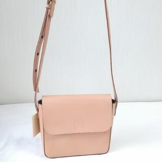 新品 無印良品 ヌメ革 ショルダー バッグ 生成 定価¥15000 ベージュ