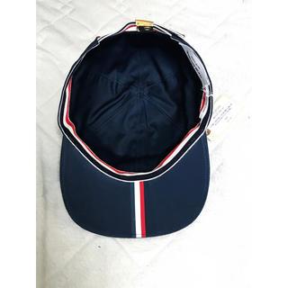 トムブラウン(THOM BROWNE)のTHOM BROWNE COTTON TWILL BASEBALL CAP(キャップ)