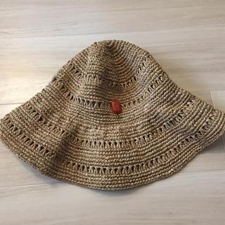 トプカピ(TOPKAPI)のトプカピ ラフィア帽子(麦わら帽子/ストローハット)