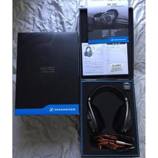 ゼンハイザー(SENNHEISER)のゼンハイザー HD700 高音質 ヘッドフォン/ヘッドホン(ヘッドフォン/イヤフォン)