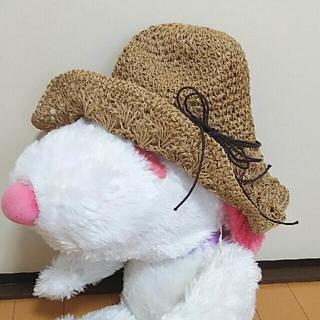 折りたためる!麦わら帽子(麦わら帽子/ストローハット)