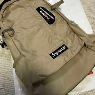 シュプリーム(Supreme)のSupreme 18SS Backpack バックパックリュック TAN(バッグパック/リュック)