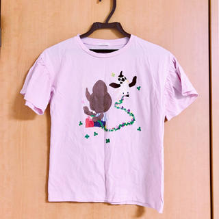 GU - 未使用 くまのがっこう 半袖Tシャツ