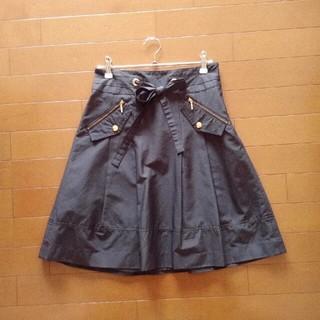 アプワイザーリッシェ(Apuweiser-riche)のアプ美品♡トレンチスカート レッセパッセ/トッコ(ひざ丈スカート)