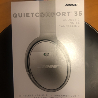 ボーズ(BOSE)のQc35 wireless bose head(ヘッドフォン/イヤフォン)