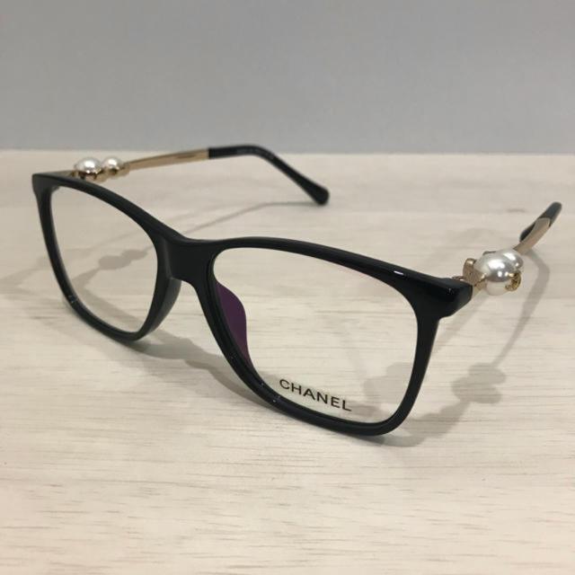 7fbc718cf64c15 CHANEL(シャネル)のCHANEL メガネフレーム レディースのファッション小物(サングラス/メガネ