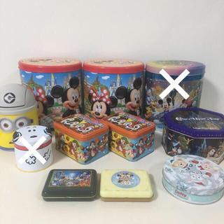 ディズニー(Disney)のDisney/USJ/お菓子/ホテル/アメニティ/空缶/まとめ売り(キャラクターグッズ)