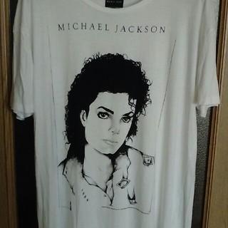 ザラ(ZARA)のマイケルジャクソン Tシャツ ZARA(Tシャツ/カットソー(半袖/袖なし))