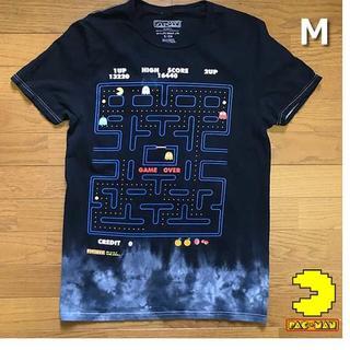 バンダイ(BANDAI)のバンダイ PAC-MAN パックマン Tシャツ 【M】黒 新品 180720(Tシャツ/カットソー(半袖/袖なし))