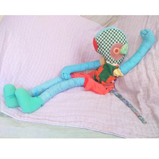 H.P.FRANCE(アッシュペーフランス)のクマネズミ くまねずみ juana de arco WALL hpdeco   キッズ/ベビー/マタニティのおもちゃ(ぬいぐるみ/人形)の商品写真