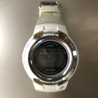 ベビージー(Baby-G)のBaby-G BGT-2600J-8JF カシオ 白(腕時計)