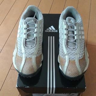 アディダス(adidas)のアディダスレディースゴルフシューズ23cm(シューズ)
