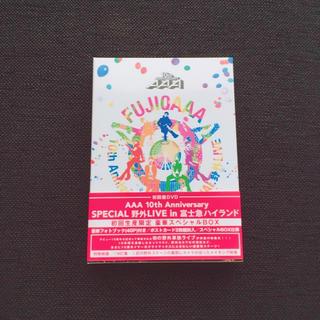 AAA - AAA 富士急LIVE 初回盤DVD