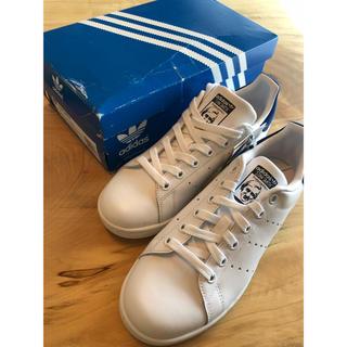 アディダス(adidas)の【23.0cm】adidas アディダス スタンスミス ホワイトブルー(スニーカー)