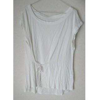 カミシマチナミ(KAMISHIMA CHINAMI)のカミシマチナミ カットソー 白 ホワイト Tシャツ(Tシャツ(半袖/袖なし))