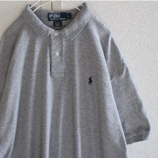 ポロラルフローレン(POLO RALPH LAUREN)のUS ポロ ラルフローレン ビッグサイズ gray3 半袖 ポロシャツ L(ポロシャツ)