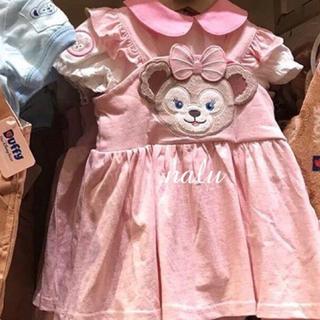 Disney - 香港ディズニー♡シェリーメイベビーロンパース/ジャンパースカートセット
