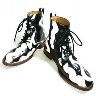 ヴィヴィアンウエストウッド(Vivienne Westwood)のVivienne Westwood MAN/スクイグル柄 アンクルブーツ(ブーツ)