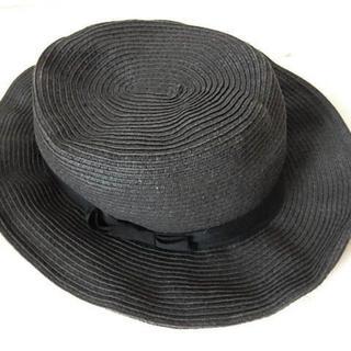 ユナイテッドアローズ(UNITED ARROWS)の定価4,212円 ユナイテッドアローズ グリーンレーベル ハット麦わら 帽子(ハット)