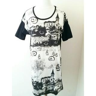 デバステ(DÉVASTÉE)のDEVASTEE POUR MUSEUM/ディバステ/ビッグTシャツ(Tシャツ(半袖/袖なし))