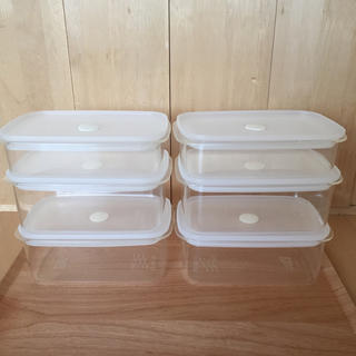ムジルシリョウヒン(MUJI (無印良品))の無印良品 バルブ付き密閉保存容器(容器)