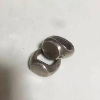 クロムハーツ(Chrome Hearts)のシルバーリング アンティーク 加工 マルジェラ 風(リング(指輪))