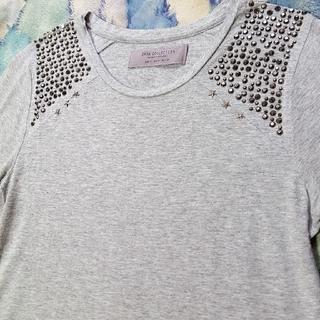 ザラ(ZARA)のザラ Tシャツ ZARA Tシャツ スタッツTシャツ ザラ 古着 Tシャツ(Tシャツ/カットソー(半袖/袖なし))