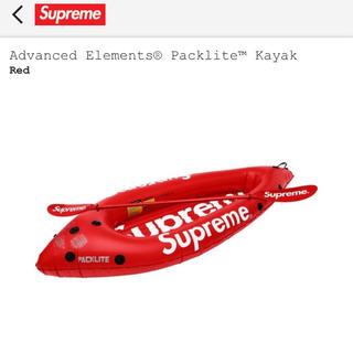 シュプリーム(Supreme)のsupreme kayak  カヤック red カヌー (その他)