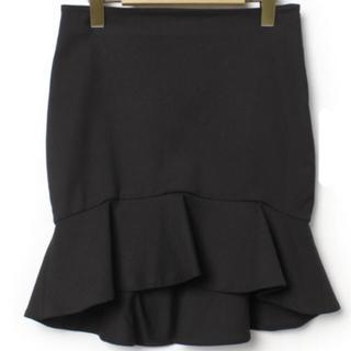 ZARA - 着用1回 ZARA マーメイド スカート ブラック