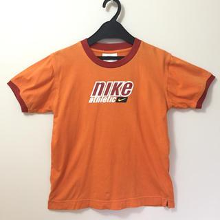 ナイキ(NIKE)のNIKE  ナイキ レトロロゴ T 4 KIDSかウィメンズXL メンズXS相当(Tシャツ(半袖/袖なし))